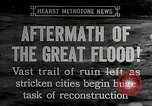 Image of reconstruction after floods Hartford Connecticut USA, 1937, second 3 stock footage video 65675069584