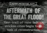 Image of reconstruction after floods Hartford Connecticut USA, 1937, second 5 stock footage video 65675069584
