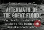 Image of reconstruction after floods Hartford Connecticut USA, 1937, second 6 stock footage video 65675069584