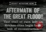 Image of reconstruction after floods Hartford Connecticut USA, 1937, second 7 stock footage video 65675069584