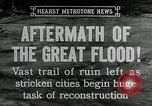 Image of reconstruction after floods Hartford Connecticut USA, 1937, second 9 stock footage video 65675069584