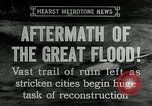 Image of reconstruction after floods Hartford Connecticut USA, 1937, second 10 stock footage video 65675069584