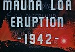 Image of Mauna Loa eruption Hawaii USA, 1942, second 11 stock footage video 65675069590