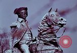Image of statues and monuments Washington DC USA, 1969, second 6 stock footage video 65675069599