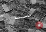 Image of exchange currency Germany, 1948, second 2 stock footage video 65675069603