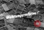 Image of exchange currency Germany, 1948, second 3 stock footage video 65675069603