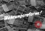 Image of exchange currency Germany, 1948, second 4 stock footage video 65675069603