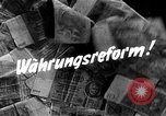 Image of exchange currency Germany, 1948, second 5 stock footage video 65675069603