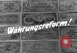 Image of exchange currency Germany, 1948, second 7 stock footage video 65675069603