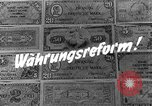 Image of exchange currency Germany, 1948, second 8 stock footage video 65675069603