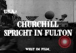 Image of Winston Churchill Fulton Missouri USA, 1948, second 5 stock footage video 65675069604