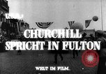 Image of Winston Churchill Fulton Missouri USA, 1948, second 6 stock footage video 65675069604