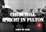 Image of Winston Churchill Fulton Missouri USA, 1948, second 7 stock footage video 65675069604