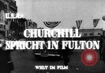 Image of Winston Churchill Fulton Missouri USA, 1948, second 8 stock footage video 65675069604
