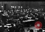 Image of War Crime Trials Nuremberg Germany, 1948, second 10 stock footage video 65675069605