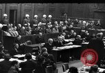 Image of War Crime Trials Nuremberg Germany, 1948, second 11 stock footage video 65675069605