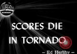 Image of tornado United States USA, 1944, second 4 stock footage video 65675069623