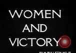 Image of Women Army Corps United States USA, 1944, second 11 stock footage video 65675069629