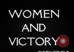 Image of Women Army Corps United States USA, 1944, second 12 stock footage video 65675069629