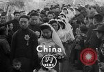 Image of mass Chinese wedding Shanghai China, 1948, second 2 stock footage video 65675069641