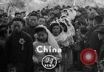 Image of mass Chinese wedding Shanghai China, 1948, second 3 stock footage video 65675069641