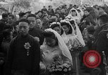 Image of mass Chinese wedding Shanghai China, 1948, second 4 stock footage video 65675069641