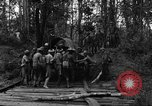 Image of Karen troops Chaungtha Burma, 1944, second 8 stock footage video 65675069659