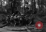 Image of Karen troops Chaungtha Burma, 1944, second 9 stock footage video 65675069659