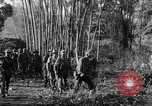 Image of Karen troops Chaungtha Burma, 1945, second 9 stock footage video 65675069661