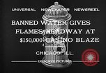 Image of Fire at Miralago ballroom Chicago Illinois USA, 1932, second 10 stock footage video 65675069701