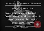 Image of Preparation of Easter eggs Philadelphia Pennsylvania USA, 1932, second 1 stock footage video 65675069702