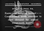 Image of Preparation of Easter eggs Philadelphia Pennsylvania USA, 1932, second 3 stock footage video 65675069702