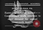 Image of Preparation of Easter eggs Philadelphia Pennsylvania USA, 1932, second 4 stock footage video 65675069702