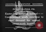 Image of Preparation of Easter eggs Philadelphia Pennsylvania USA, 1932, second 5 stock footage video 65675069702