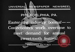 Image of Preparation of Easter eggs Philadelphia Pennsylvania USA, 1932, second 6 stock footage video 65675069702