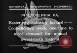 Image of Preparation of Easter eggs Philadelphia Pennsylvania USA, 1932, second 7 stock footage video 65675069702