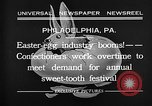 Image of Preparation of Easter eggs Philadelphia Pennsylvania USA, 1932, second 9 stock footage video 65675069702