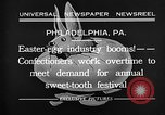 Image of Preparation of Easter eggs Philadelphia Pennsylvania USA, 1932, second 10 stock footage video 65675069702