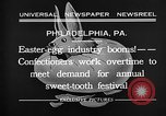 Image of Preparation of Easter eggs Philadelphia Pennsylvania USA, 1932, second 11 stock footage video 65675069702