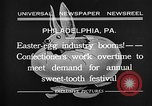 Image of Preparation of Easter eggs Philadelphia Pennsylvania USA, 1932, second 12 stock footage video 65675069702