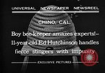 Image of Ed Hutchinson Chino California USA, 1932, second 1 stock footage video 65675069703