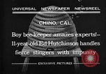 Image of Ed Hutchinson Chino California USA, 1932, second 5 stock footage video 65675069703