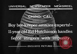 Image of Ed Hutchinson Chino California USA, 1932, second 6 stock footage video 65675069703