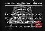 Image of Ed Hutchinson Chino California USA, 1932, second 11 stock footage video 65675069703