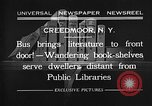Image of bus carrying books Creedmoor New York USA, 1932, second 1 stock footage video 65675069704