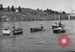 Image of fishermen catch fish Longview Washington USA, 1932, second 12 stock footage video 65675069706