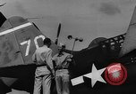 Image of US Navy TBF avenger catapulted from aircraft carrier Ulithi Atoll Caroline Islands, 1944, second 2 stock footage video 65675069716