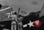 Image of US Navy TBF avenger catapulted from aircraft carrier Ulithi Atoll Caroline Islands, 1944, second 4 stock footage video 65675069716