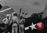 Image of US Navy TBF avenger catapulted from aircraft carrier Ulithi Atoll Caroline Islands, 1944, second 7 stock footage video 65675069716