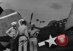Image of US Navy TBF avenger catapulted from aircraft carrier Ulithi Atoll Caroline Islands, 1944, second 9 stock footage video 65675069716